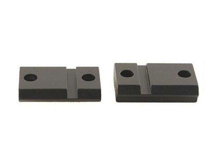 Leupold QRW Savage 110 Steel Cross-Slot 2-Piece Scope Base, Matte Black - 171707