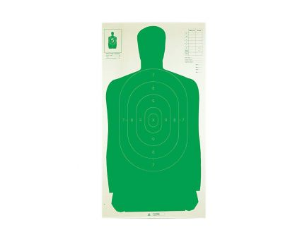Champion B27FSA Green Silhouette Target, 100 Pack - 40732
