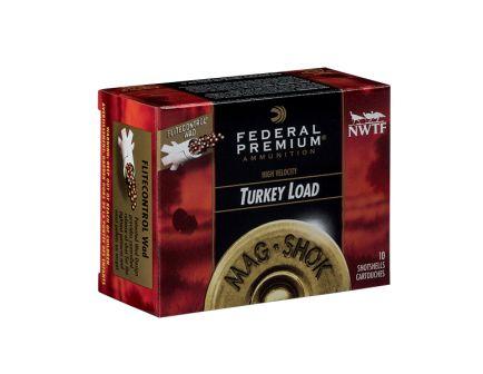 "Federal 20ga 3"" 1-5/16oz #4 MAG-SHOK Turkey Shotshells, 10 Round Box"