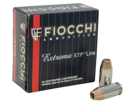 Fiocchi 45 Auto/ACP 200gr JHP Extrema Ammunition 25rds - 45XTP25