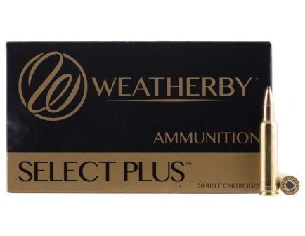Weatherby Select Plus 416 Weatherby Mag 400 grain Round Nose-Expanding Rifle Ammo, 20/Box - H416400RN