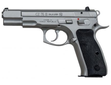 CZ 75 B 9mm Pistol, Matte Stainless - 91128