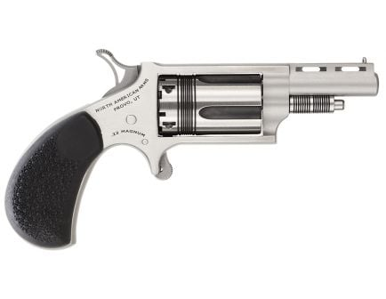 North American Arms 22 LR 5 Round Revolver, Stainless - 22MCTW