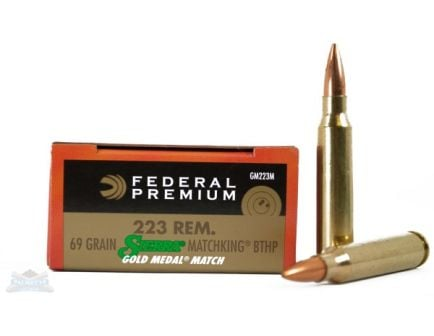 Federal .223 Rifle Ammo