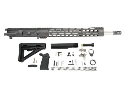 """PSA 18"""" Mid-Length 6.8 SPC II 1/11 Stainless Steel 15"""" Lightweight M-Lok MOE 2-Stage Rifle kit"""