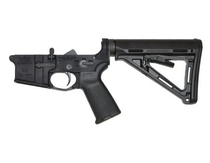 psa ar15 complete lower magpul moe edition in black no magazine