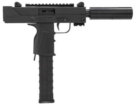 Masterpiece Arms Defender 9mm 30+1 Semi Auto Blowback Pistol, Black - MPA30SST