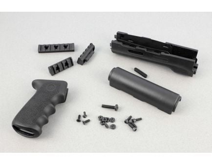 Hogue AK-47/AK-74 (Longer Yugo Version) Kit OM Grip and Forend Black - 74018