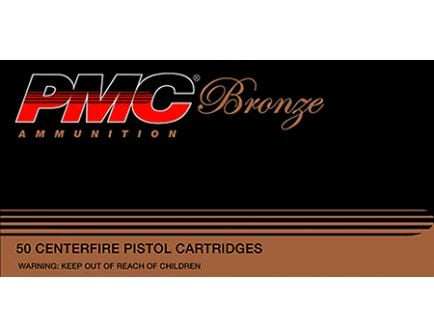 PMC Bronze 9mm 115gr JHP Ammunition 50rds - 9B