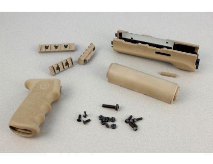 Hogue AK-47/AK-74 (Longer Yugo Version) Kit OM Grip and Forend Desert Tan - 74318