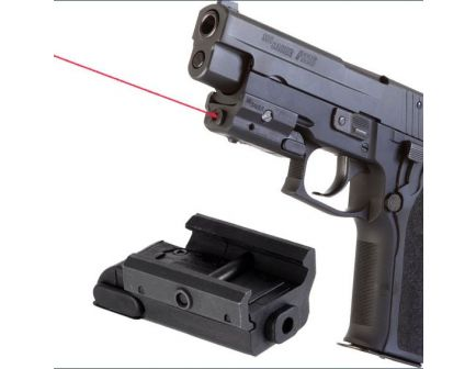 Sig Sauer Classic Pistol Laser, Rail Mount, Red Diode CPL-RM-R