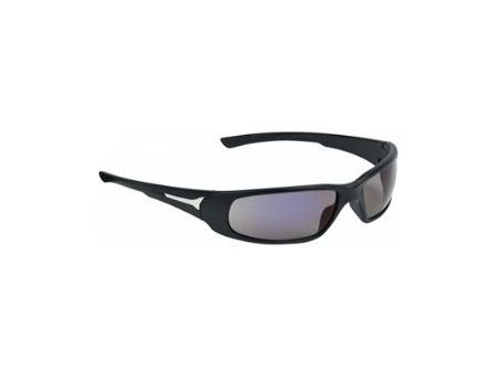 Champion Closed Frame Balistic Black Matte/Mirror Lens Shooting Glasses 40632
