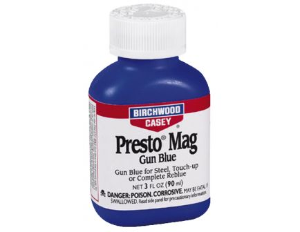Birchwood Casey Presto Liquid Magnum Gun Blue, 3 fl oz Bottle - 13525
