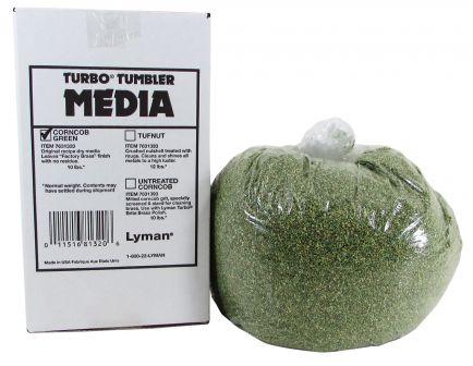 Lyman Turbo Case Cleaning Media Corncob Green 10 lb Box 7631320