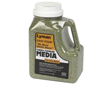 "Lyman ""Easy Pour"" Turbo Brass Cleaning Media Corncob Green 6lb 7631394"