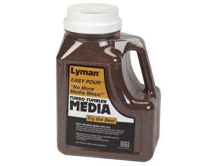 "Lyman ""Easy Pour"" Turbo Tufnut Media 7lb 7631396"