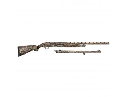 "Mossberg 500 Combo Field/Deer 28""/24"" 12 Gauge Shotgun 3"" Pump, MO Break-Up Country - 52282"