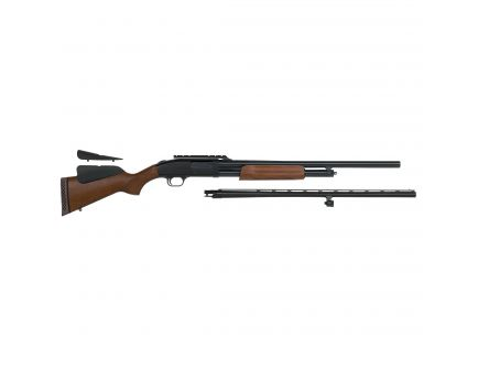 "Mossberg 500 Combo Field/Deer 28""/24"" 12 Gauge Shotgun 3"" Pump, Wood - 54243"