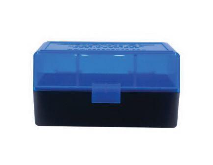 Berrys Bullets 405 .223 Rem/5.56 50 Round Snap-Hinge Ammo Box, Blue - 40502
