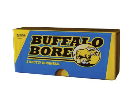 Buffalo Bore 45-70 Mag 350 grain Jacketed Flat Nose Lever Gun Rifle Ammo, 20/Box - 8C/20