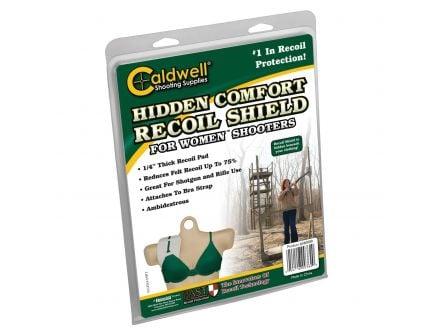 Caldwell Hidden Comfort Recoil Shield, White, Women's - 360000