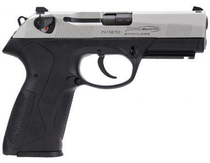 Beretta Px4 Storm Type F Full Size Inox 9mm Pistol 10 Round, Black - JXF9F50