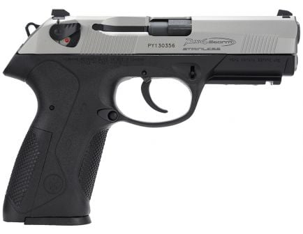 Beretta Px4 Storm Inox 40 S&W Pistol 10 Round Full Size, Black - JXF4F50