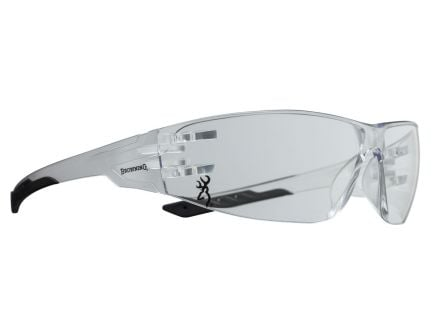 Browning Shooters Flex Full Wraparound Eye Protection Glasses, Clear Lens - 12761