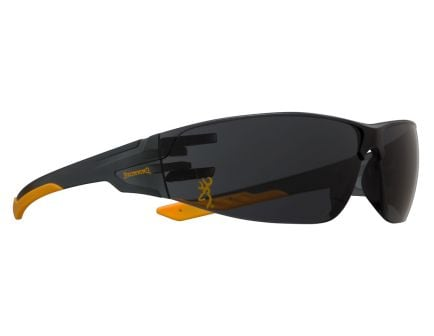Browning Shooters Flex Full Wraparound Eye Protection Glasses, Smoke Lens - 12762