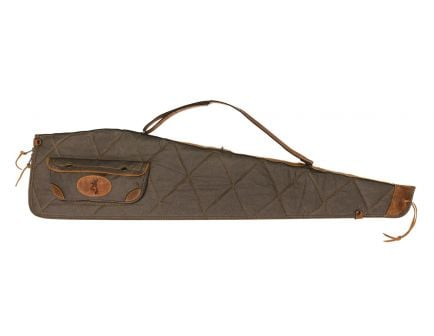 Browning Lona Scoped Rifle Case, Flint/Brown - 1413886948