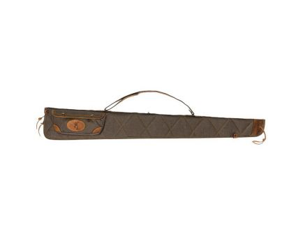 Browning Lona Regular Rifle Case, Flint/Brown - 1413886952