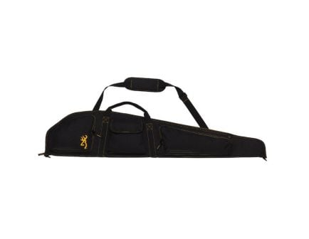 Browning Black and Gold Flexible Scoped Rifle Case, Black/Yellow - 1419589901