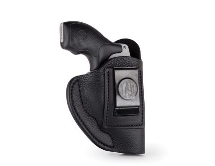 1791 Gunleather SCH Right Hand Ruger LCR IWB Smooth Concealment Holster, Night Sky Black - SCH-2-NSB-R