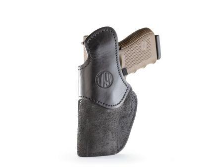 1791 Gunleather RCH Right Hand Glock 17 IWB Rigid Concealment Holster, Black - RCH-4-BLK-R