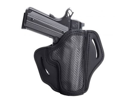 1791 Gunleather CF-BH2.3 Right Hand Glock 17 OWB Open-Top Multi-Fit Holster, Stealth Black - CF-BH2.3-SBL-R