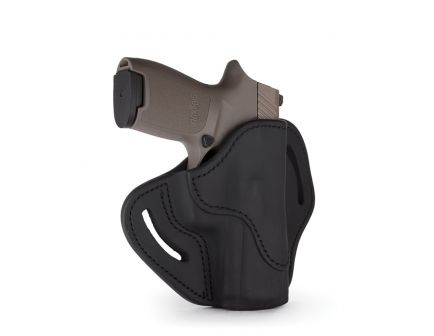 1791 Gunleather BH2.4S Right Hand HK VP9 SK OWB Open-Top Multi-Fit Holster, Stealth Black - BH2.4S-SBL-R