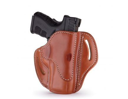 1791 Gunleather BH2.4S Right Hand HK VP9 SK OWB Open-Top Multi-Fit Holster, Classic Brown - BH2.4S-CBR-R