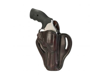 1791 Gunleather RVH2 Right Hand Ruger GP100 OWB Holster, Signature Brown - RVH-2-SBR-R