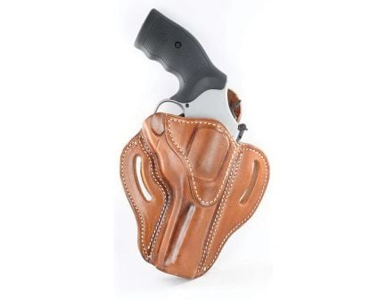 1791 Gunleather RVH2 Right Hand Ruger GP100 OWB Holster, Classic Brown - RVH-2-CBR-R
