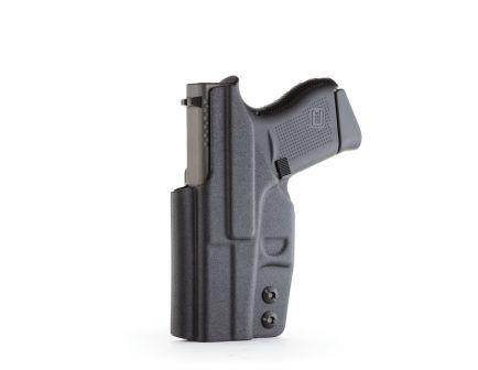 1791 Gunleather Right Hand Glock 43 IWB Holster, Black - TAC-IWB-GLOCK43-BLK-R