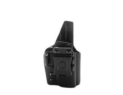 1791 Gunleather Right Hand Springfield XD-S IWB Holster, Black - TAC-IWB-XDS-BLK-R