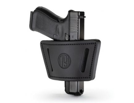 1791 Gunleather UIW MAX Right Hand Small/Medium Frame IWB/OWB Universal Holster, Stealth Black - UIW-SBL-A