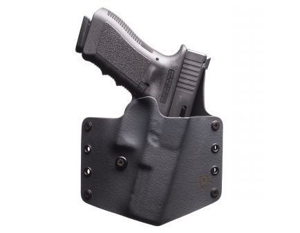 Black Point Tactical Standard Right Hand Glock 19/23 QWB Holster, Textured Black - 100101