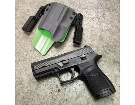 Black Point Tactical Mini Wing Right Hand Glock 43 IWB Holster, Textured Black - 103283