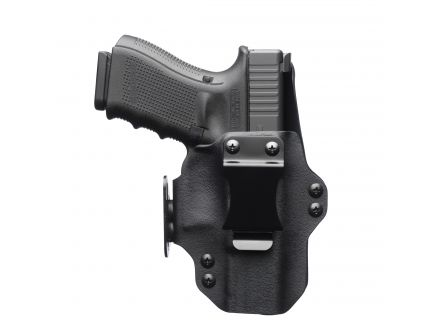 """Black Point Tactical Dualpoint Right Hand 3.3"""" Springfield XD-S Appendix IWB Holster, Textured Black - 104871"""