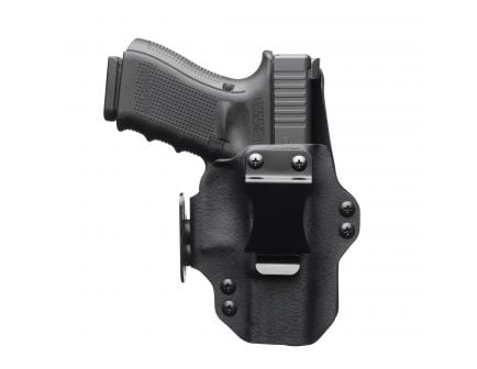 Black Point Tactical Dualpoint Right Hand Glock 26/27 Appendix IWB Holster, Textured Black - 104867