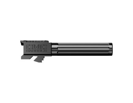 "CMC Triggers Match Precision 9mm 4.01"" Match Grade Fluted Non-Threaded Barrel, Black Diamond-Like Carbon - 75522"