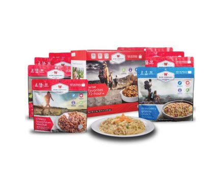 Wise Food Freeze Dried Camping and Backpacking Food, 12 Servings Entrees, 6 Servings Breakfasts - 05-913