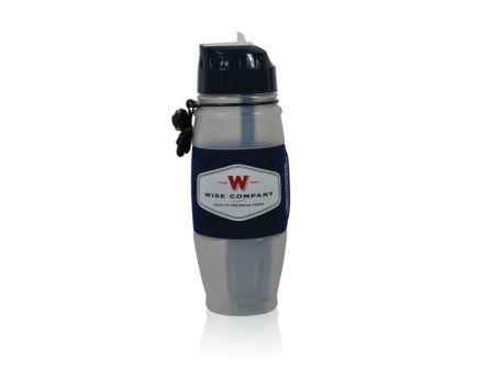Wise Food Seychelle Water Filtration Bottle, 28 oz, Gray/Black - 8000