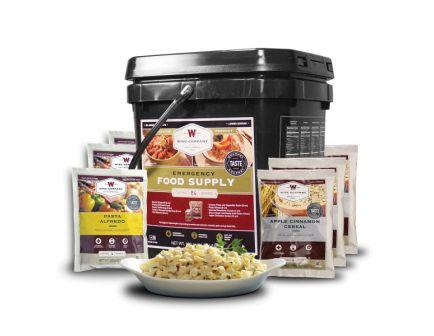Wise Food Emergency Freeze Dried Breakfast and Entree Bucket, 84 Servings - 01-184